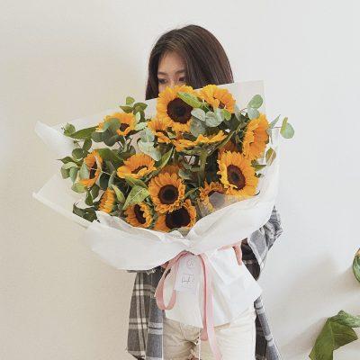 A Bunch of Sunflower