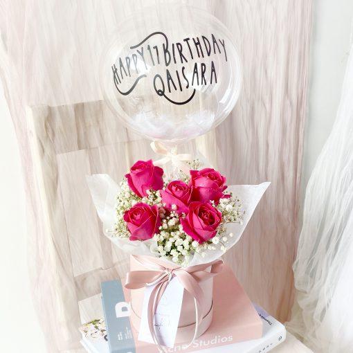 Baby Roses Hatbox
