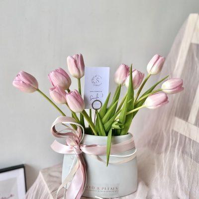 Nudie Tulips in Vase (Limited)