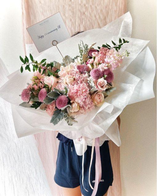 Think Purple Bouquet